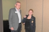 Pres Graeme with Caroline