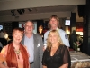 President Enid & Treasurer Paul with Julie and Mark Goodchild